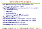 structure of the program2