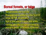 boreal forests or taiga2