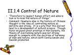 ii 1 4 control of nature1