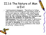ii 1 6 the nature of man is evil1
