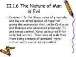 ii 1 6 the nature of man is evil2