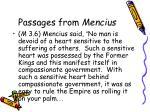 passages from mencius