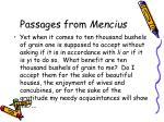 passages from mencius9