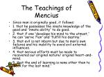 the teachings of mencius