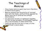 the teachings of mencius1