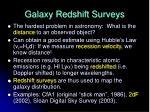 galaxy redshift surveys