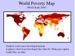 world poverty map world bank 2004