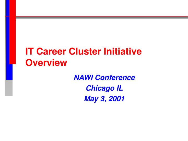 it career cluster initiative overview n.