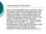 narrowing of salvation1