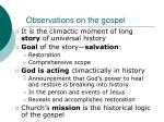observations on the gospel2
