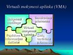 virtuali mokymosi aplinka vma