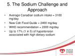 5 the sodium challenge and approach
