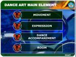 dance art main element