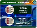 two movement kinds base