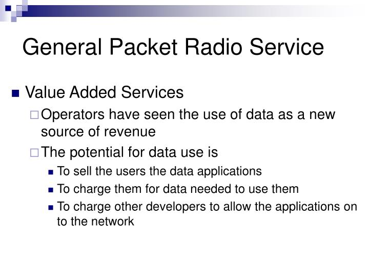 General packet radio service2