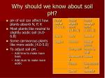 why should we know about soil ph