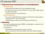 vip oproep 2007