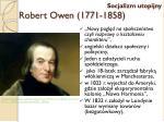 robert owen 1771 1858