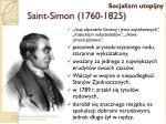 saint simon 1760 1825
