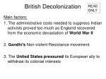 british decolonization