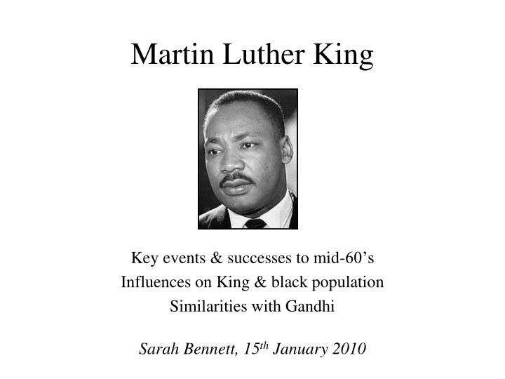 martin luther king n.