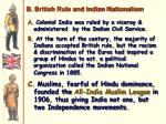 b british rule and indian nationalism