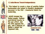 c india moves toward independence1