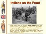 indians on the front