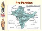 pre partition