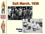 salt march 1930