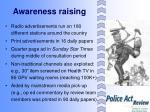awareness raising