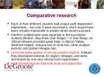 comparative research1