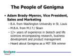 the people of genigma1