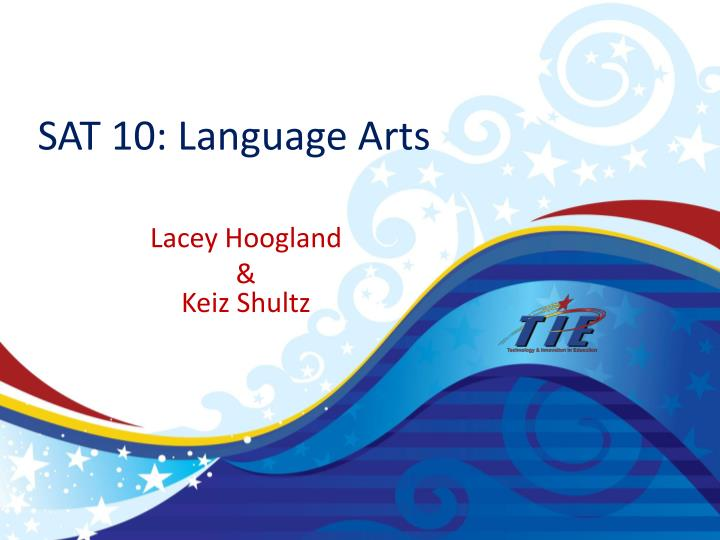 sat 10 language arts n.