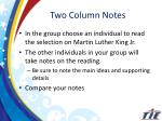 two column notes2