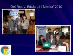 dni pracy edukacji i szkole 20101