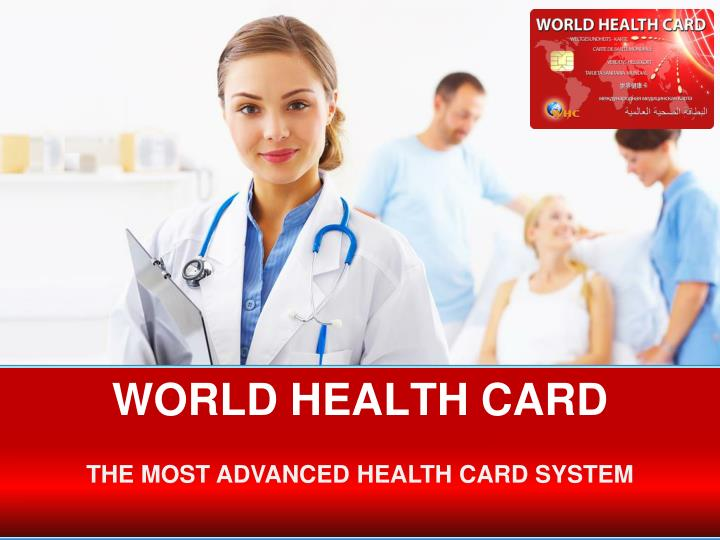 world health card n.