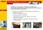 transport management services