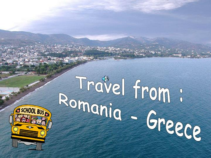 Travel from :