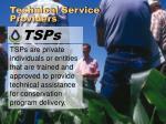 technical service providers