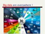 big data are everywhere