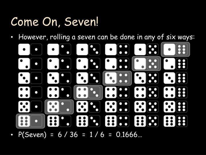 Come On, Seven!