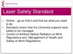laser safety standard