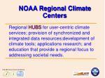 noaa regional climate centers