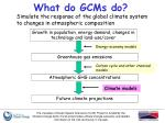 what do gcms do