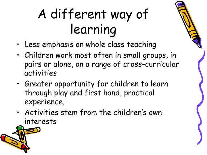 A different way of learning