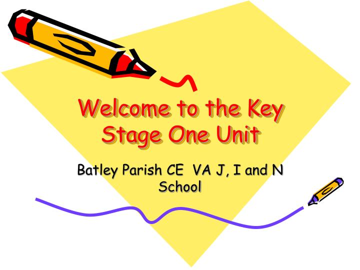 Welcome to the key stage one unit
