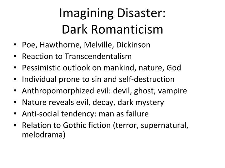 vampires and romanticism essay The essay considers q from star trek: the next generation lestat from anne  rice's the vampire lestat eric draven from the film, the crow dream from neil .