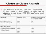 clause by clause analysis13