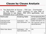 clause by clause analysis14